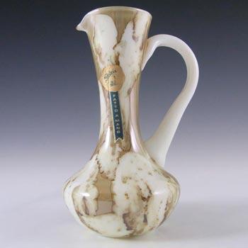 Stelvia Italian 'Fatto A Mano' Sandy Glass Vase/Jug