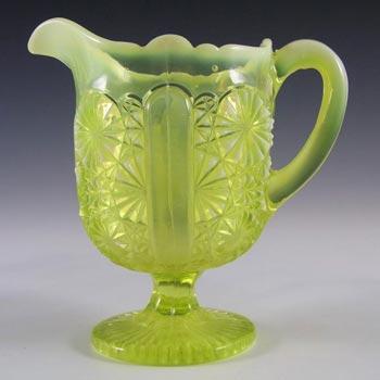 Davidson Primrose Pearline Glass Lady Chippendale Creamer
