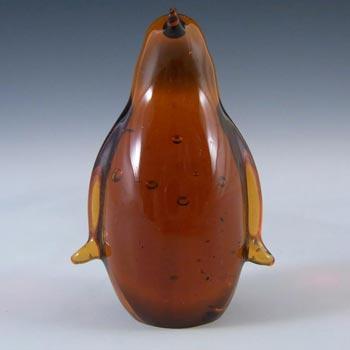 Wedgwood Topaz Glass Lilliput Penguin Paperweight L5008