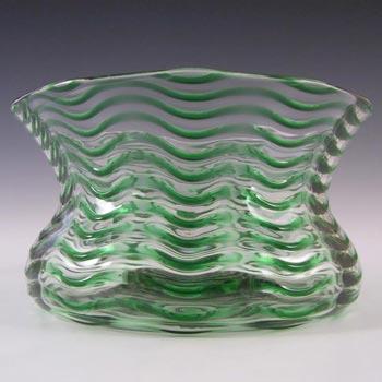 Stevens + Williams/Royal Brierley Glass Trailed Posy Vase