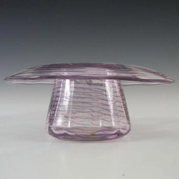 Stevens + Williams/Royal Brierley Glass Trailed Posy Bowl