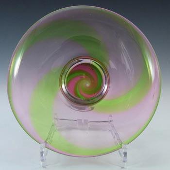 Stevens + Williams/Royal Brierley Glass 'Rainbow' Bowl