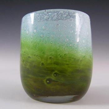 Ekenas Blue + Green Glass Vase - John-Orwar Lake