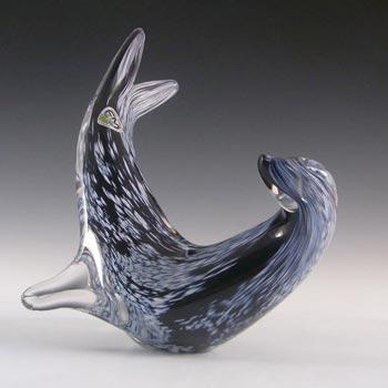 FM Konstglas/Marcolin Glass Seal - Signed + Labelled