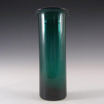 Holmegaard 'Grønland' Green Glass Per Lutken Vase - Signed