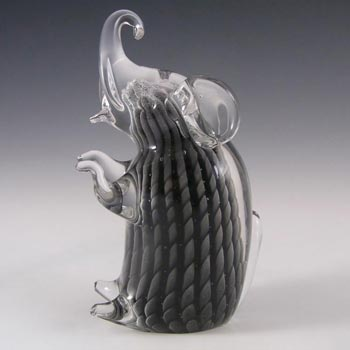 V. Nason & Co Murano Sfumato Glass Elephant - Signed
