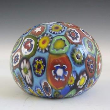 Murano Millefiori Murrine Canes Glass Paperweight