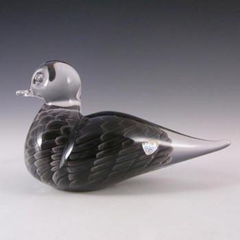 FM Konstglas/Marcolin Sfumato Glass Bird - Signed & Label
