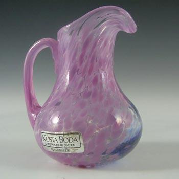 SIGNED Kosta Boda Glass Creamer - Ulrica Vallien #88013