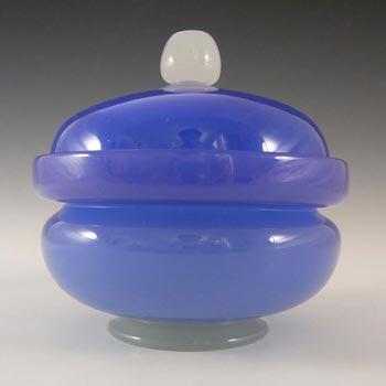 Stevens + Williams Stourbridge Alabaster Glass Powder Bowl