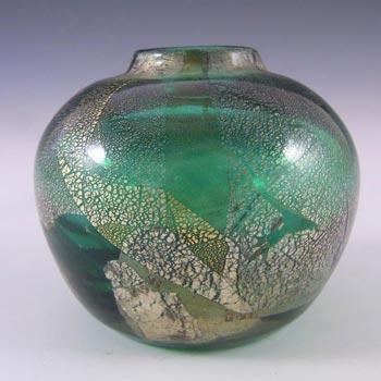 Isle of Wight Studio/Harris 'Azurene Green' Glass Vase