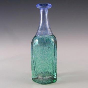 SIGNED Kosta Boda Swedish Glass Vase - Bertil Vallien 48010