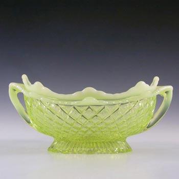 Davidson Primrose Pearline Glass 'Quilted Pillow Sham' Bowl