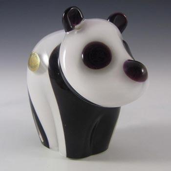 Wedgwood Glass Panda Bear Paperweight SG421 - Marked