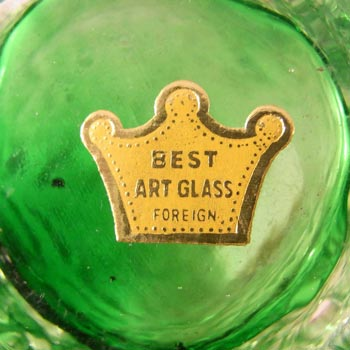 'Best Art Glass, Foreign' import label