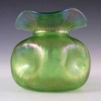 Loetz Art Nouveau 1900's Glass Creta Glatt Vase