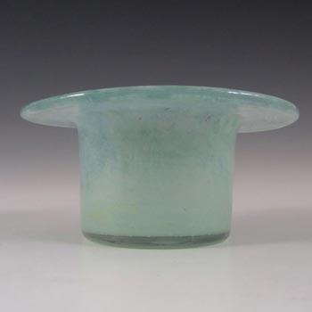 Vasart Signed Scottish Green Mottled Glass Bowl B033