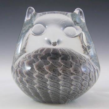 FM Konstglas/Marcolin Sfumato Glass Owl - Signed