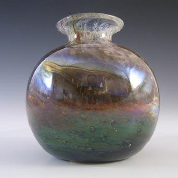 Isle of Wight Studio/Michael Harris Aurene Glass Globe Vase