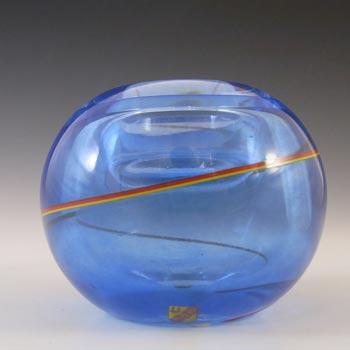 Stromberg / Strombergshyttan Swedish Glass Candle Votive - Signed