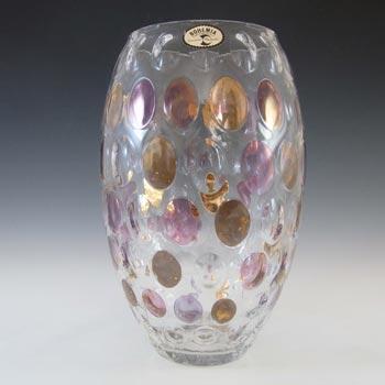 Crystalex / Borske Sklo Czech Glass 'Nemo' Vase by Max Kannegiesser