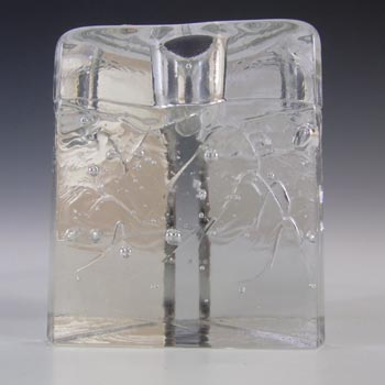 Iittala Glass Timo Sarpaneva 'Arkipelago' Candle Holder - Boxed