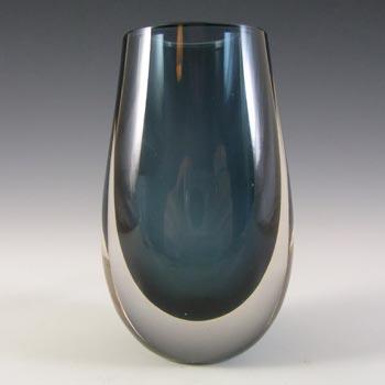 Whitefriars #9496 Baxter Indigo Glass Bud Vase