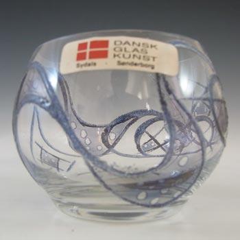 LABELLED Dansk Glaskunst Danish Glass Candle Votive / Bowl