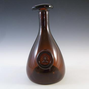 Holmegaard Brown Glass Viking Carafe - Ole Winther c 1955