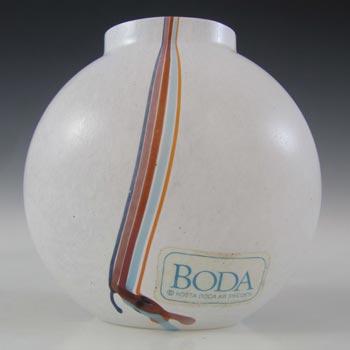 Kosta Boda Glass 'Rainbow' Vase by Bertil Vallien - Signed