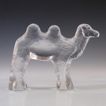 Kosta Boda Glass Camel Sculpture Bertil Vallien Zoo Series