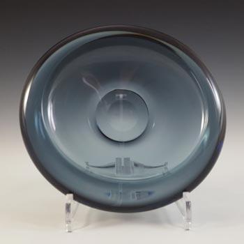 SIGNED Kosta Boda Grey Glass Bowl by Vicke Lindstrand #1610