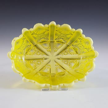 Davidson Primrose Pearline Glass 'Lady Chippendale' Bowl