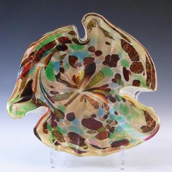 Vetro Artistico Veneziano Murano Glass Bowl - Labelled
