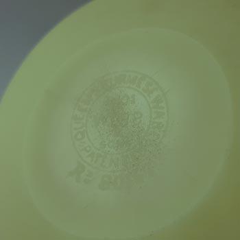 MARKED Thomas Webb Victorian Burmese Uranium Glass Vase