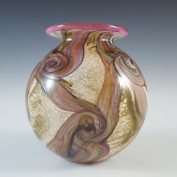 Isle of Wight Studio / Harris 'Gemstone Topaz' Glass Vase