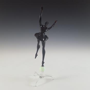 Istvan Komaromy / Bimini Style Purple Glass Ballerina Lady