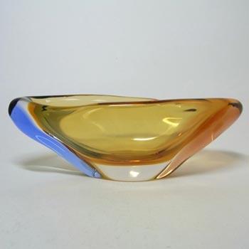 Bohemian Mstisov Glass Romana Bowl by Hana Machovska