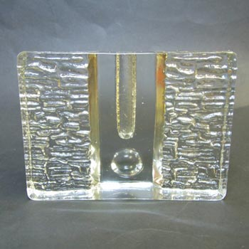 German Walther Glas Solifleur Stem Glass Vase